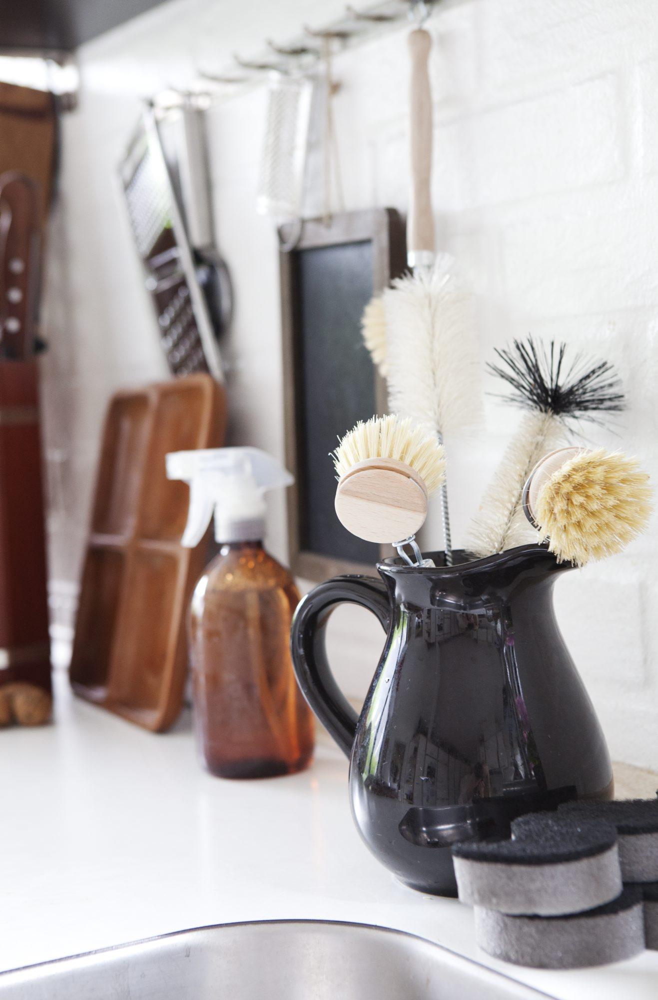 Alternativ oppbevaring på kjøkkenbenken