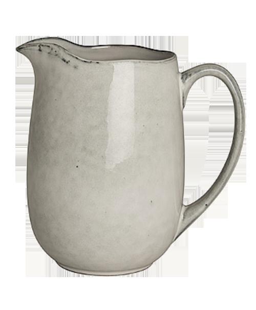 Hvit mugge fra Broste Copenhagen