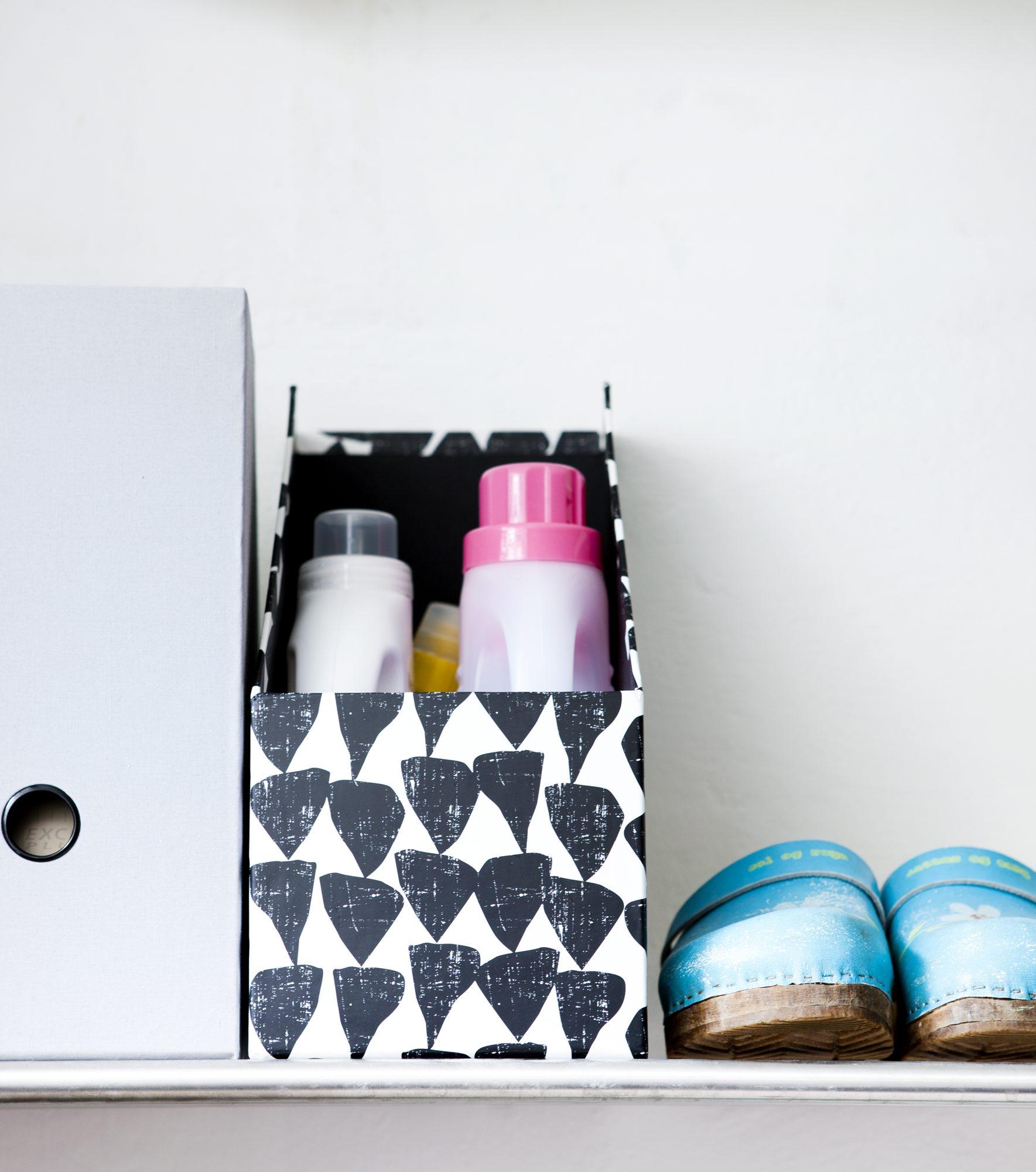 Smart oppbevaring på vaskerommet