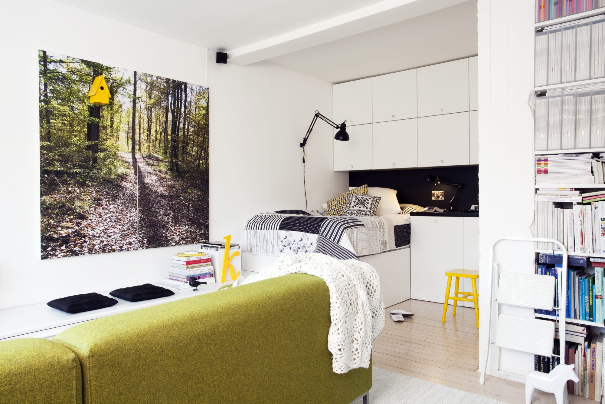 Kompakt leilighet på 40 kvadramter