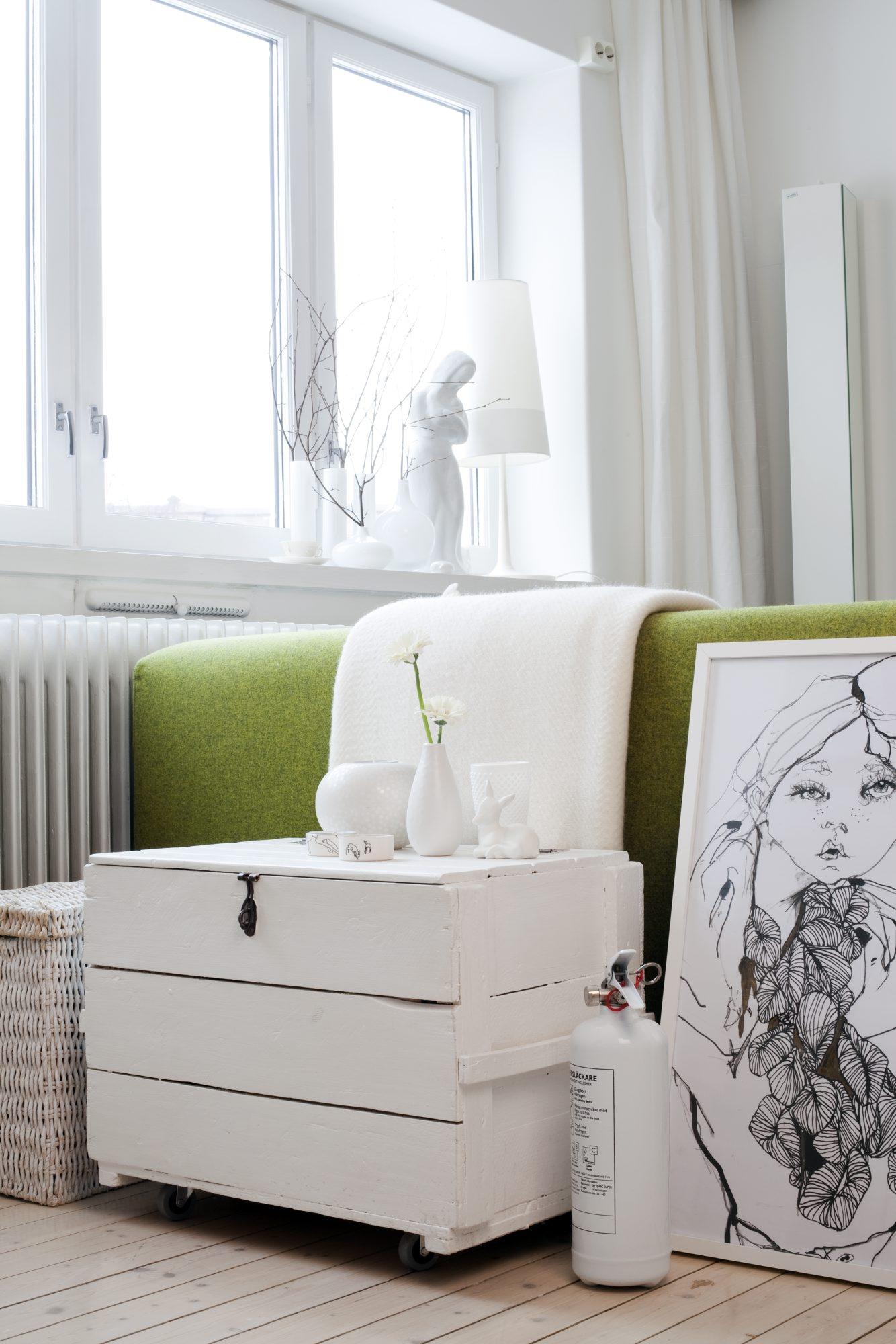 Smart leilighet på 40 kvadratmeter