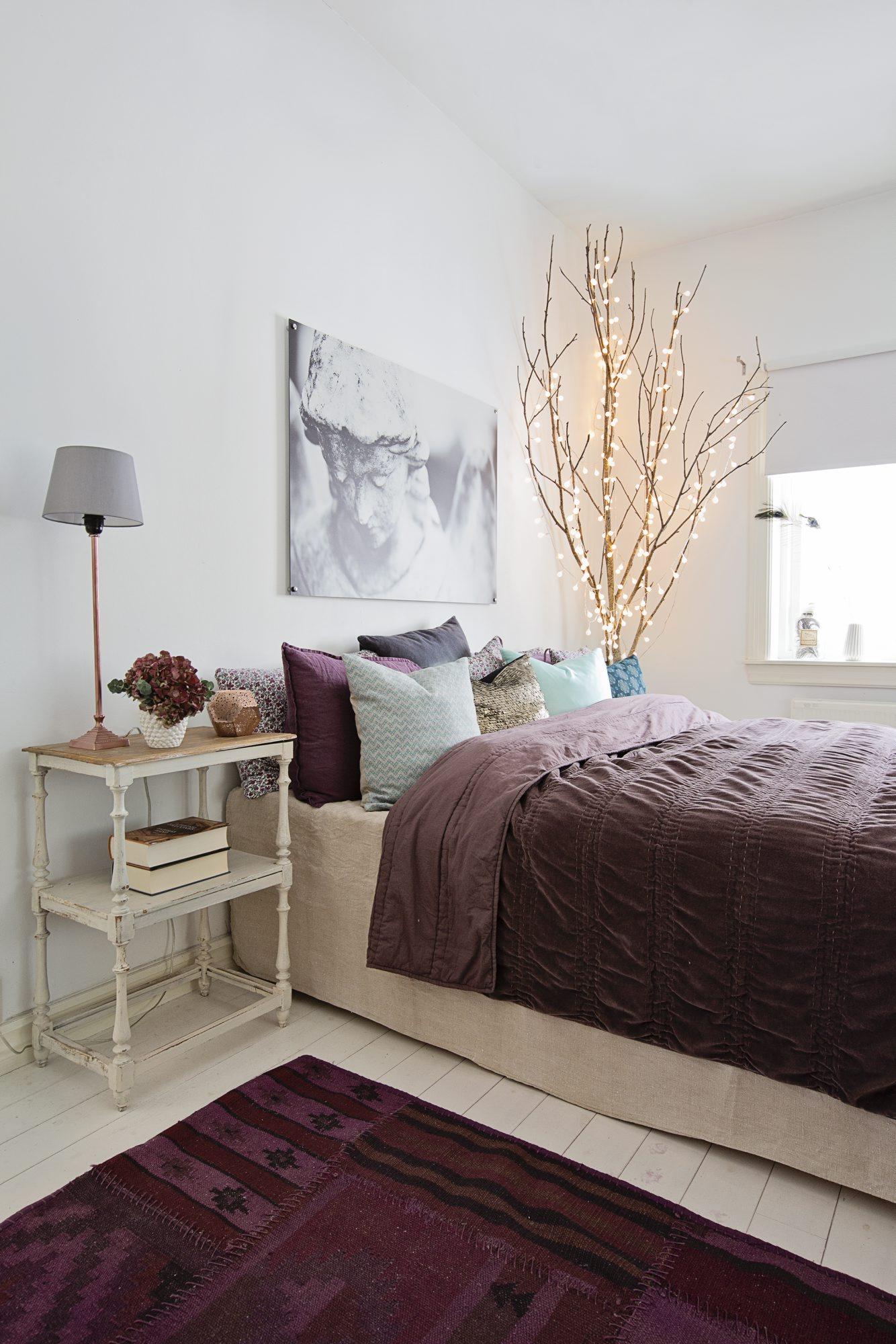 5 herlige ideer til soverommet rom123. Black Bedroom Furniture Sets. Home Design Ideas