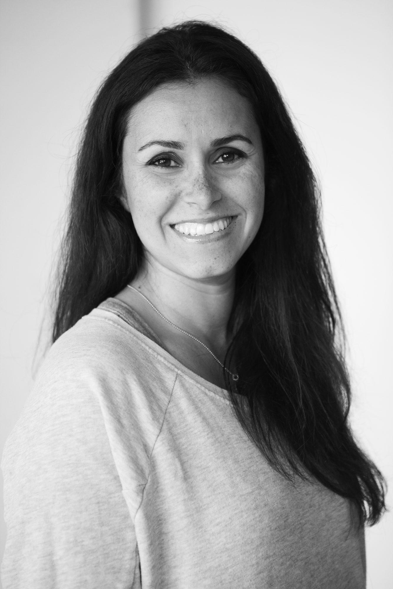 Linda Elmin, boligstylist og innehaver av nettbutikken hviit.no.