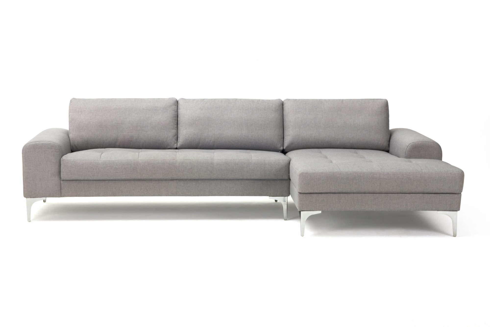 Charlie, 3-seter med sjeselong, i stoffet Vendy cool grey, kr 8999, sofacompany.dk.