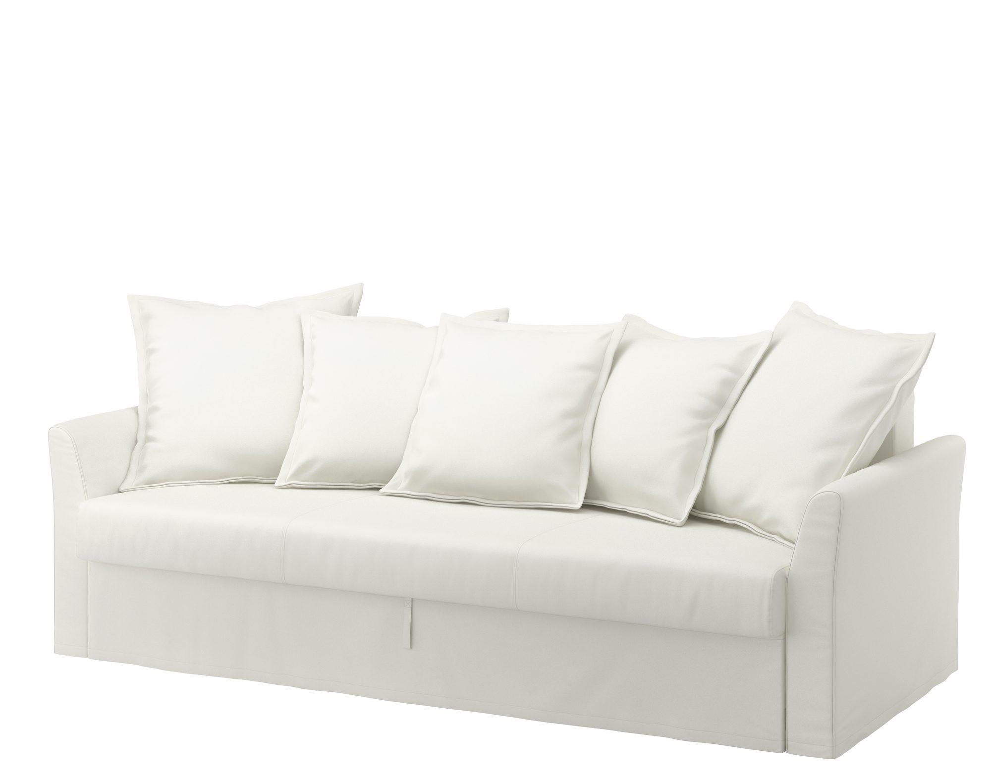 Holmsund, 3-seters sovesofa, kr 4995, fra Ikea.