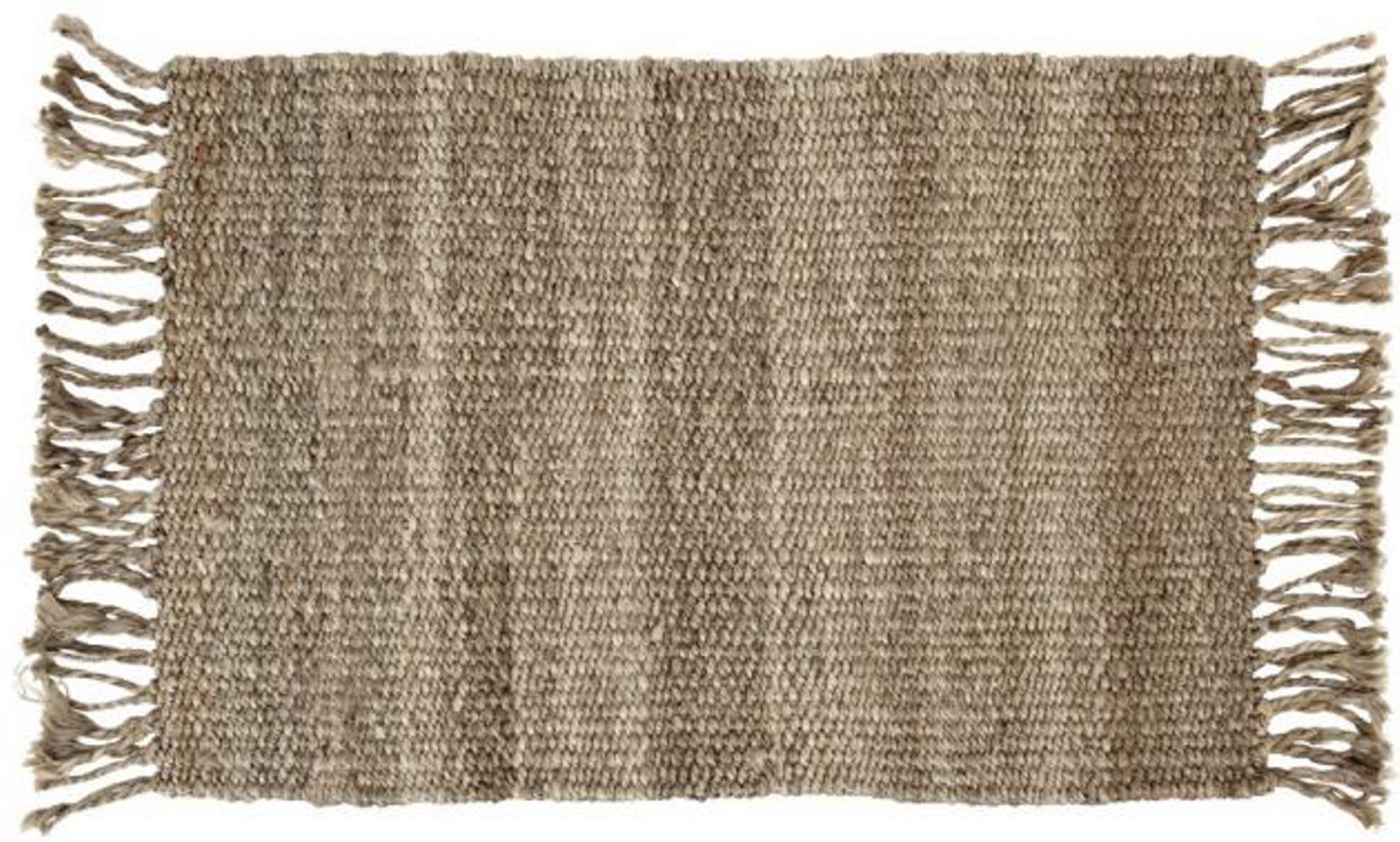 Tepper Til Barnerom: Barnetepper Teppeabo. Cotton teppe med kant svart ...