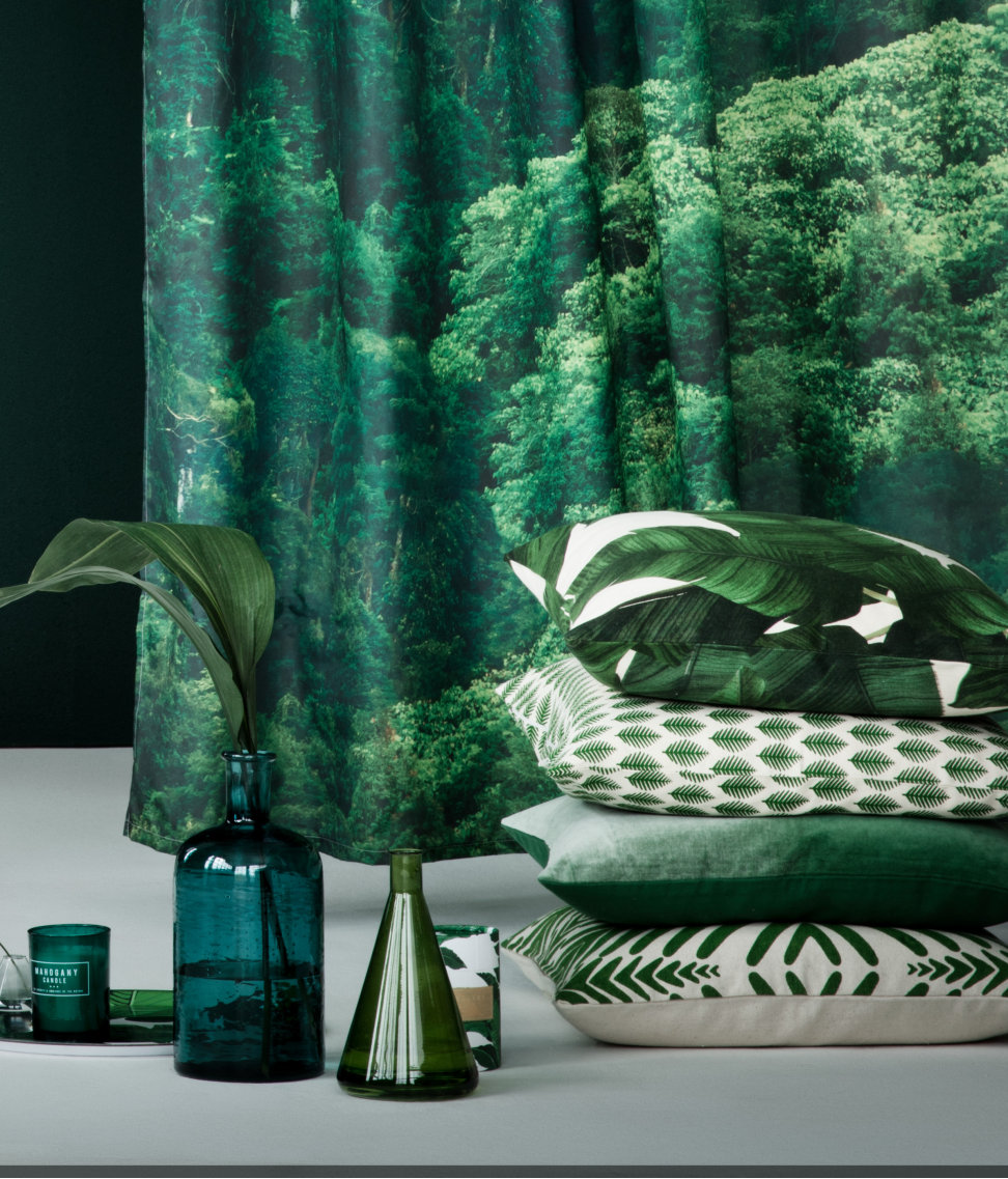 putetrekk botanisk H&M Home