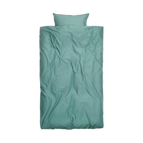 turkis sengetøy fra H&M Home
