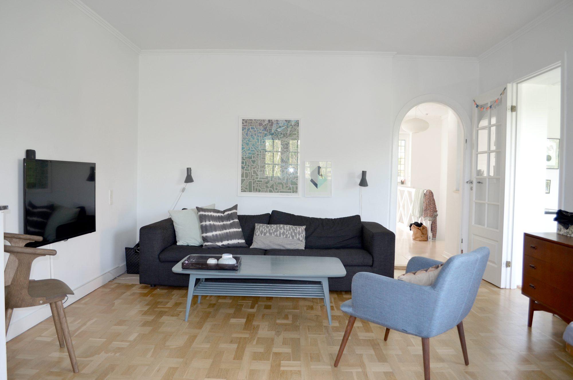 Stuen ble helt ny – sjekk forvandlingen! – Rom123