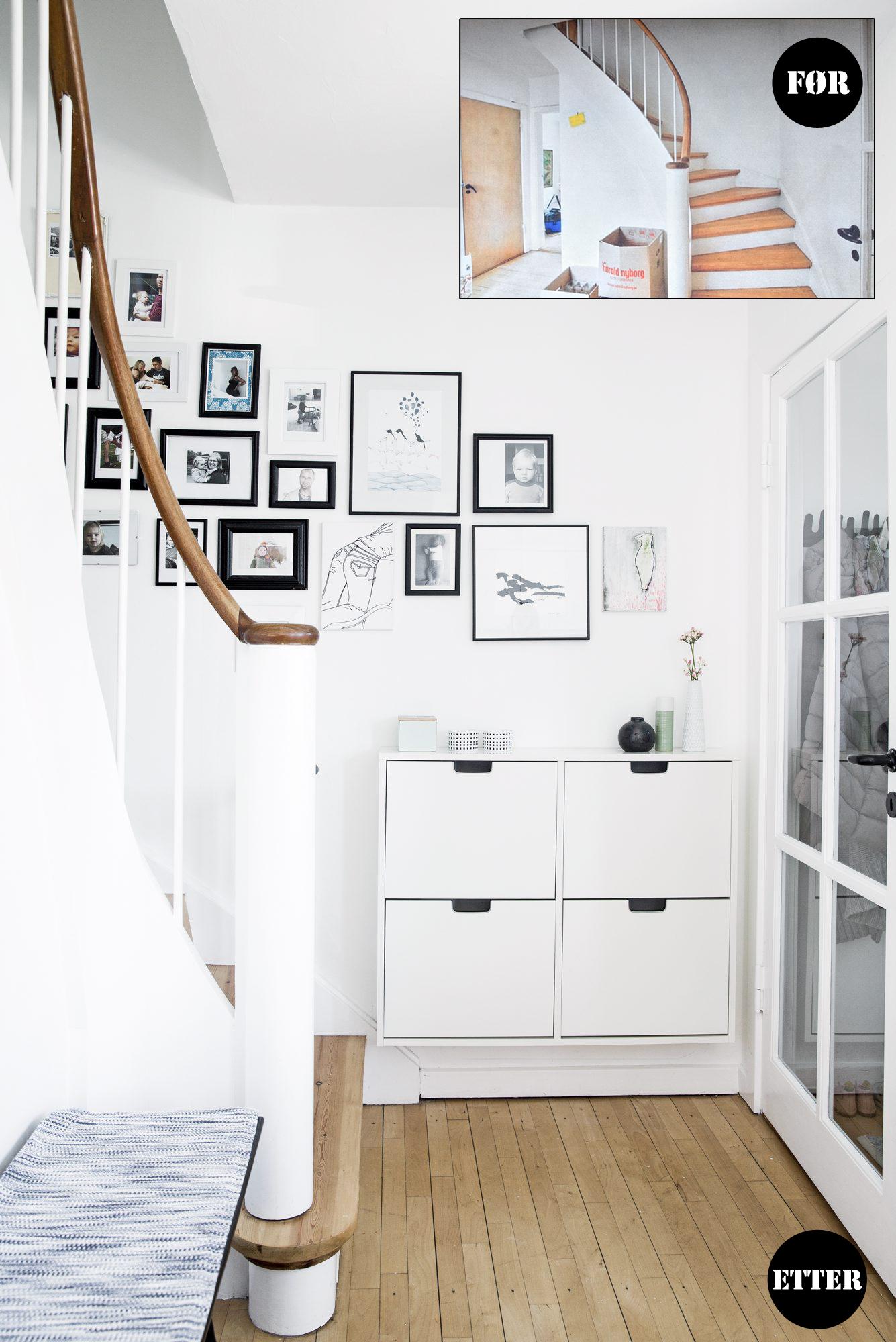 før og etter trappegang