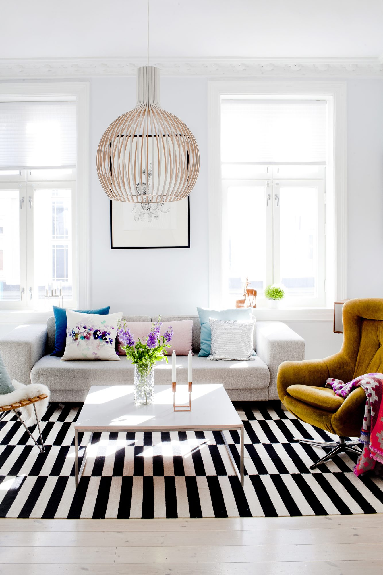 Stuen hos Christina Agdestein Steffensen