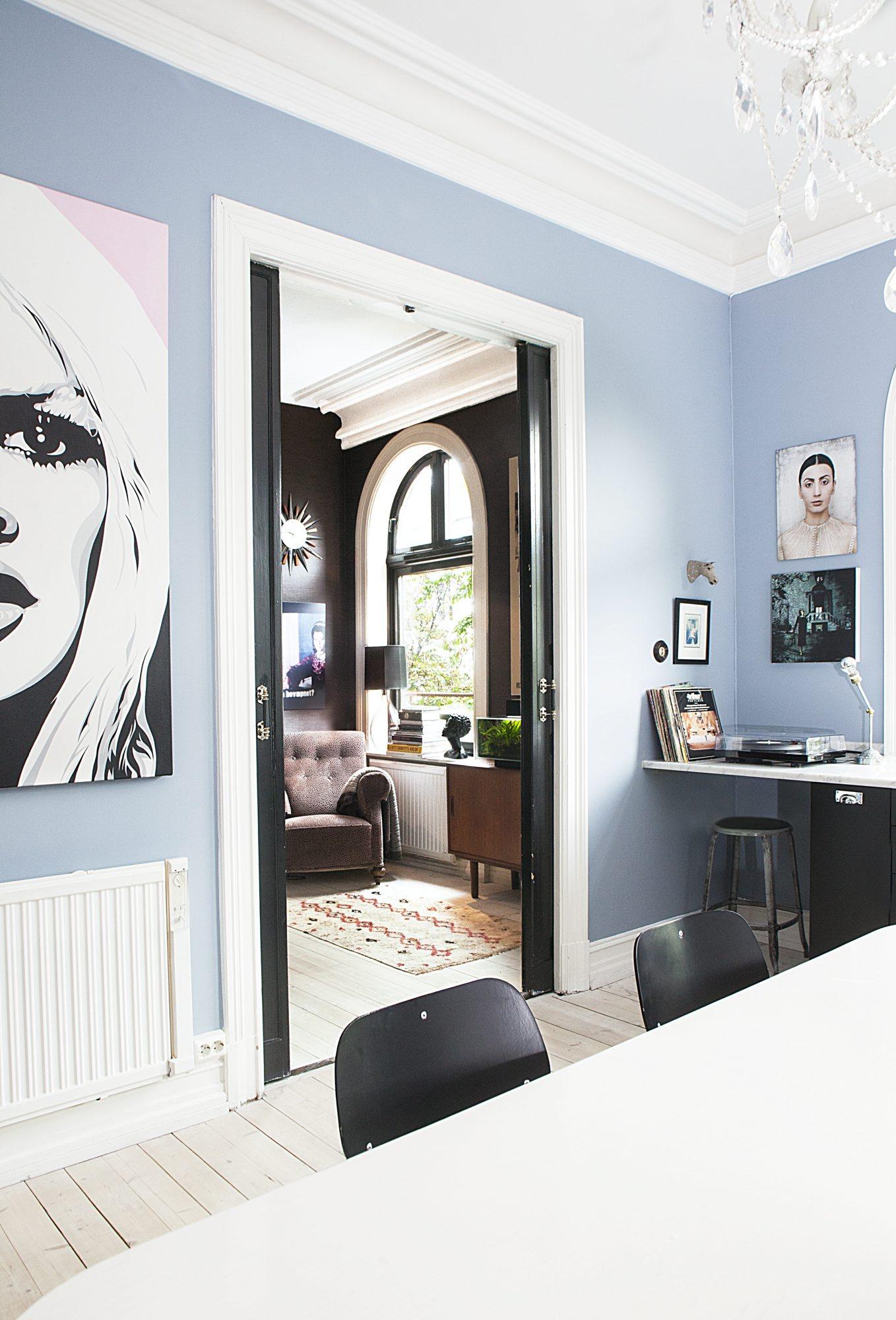 hjemme hos Karina Holmen