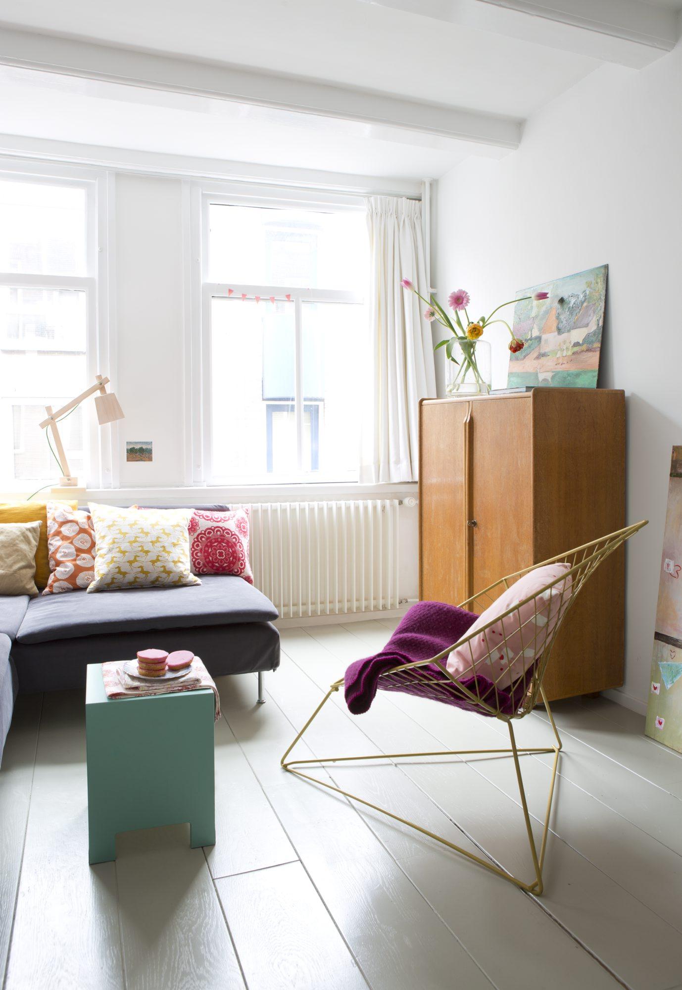 Hjemme hos Merel og Ruben i Amsterdam