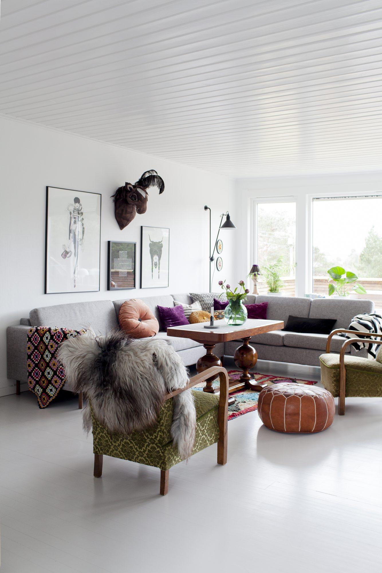 Hjemme hos Elisabeth Vagenes