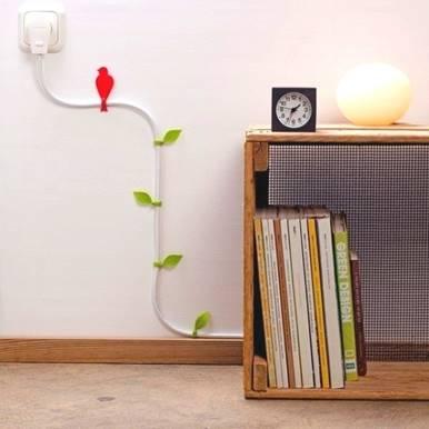 Skjule ledninger på vegg