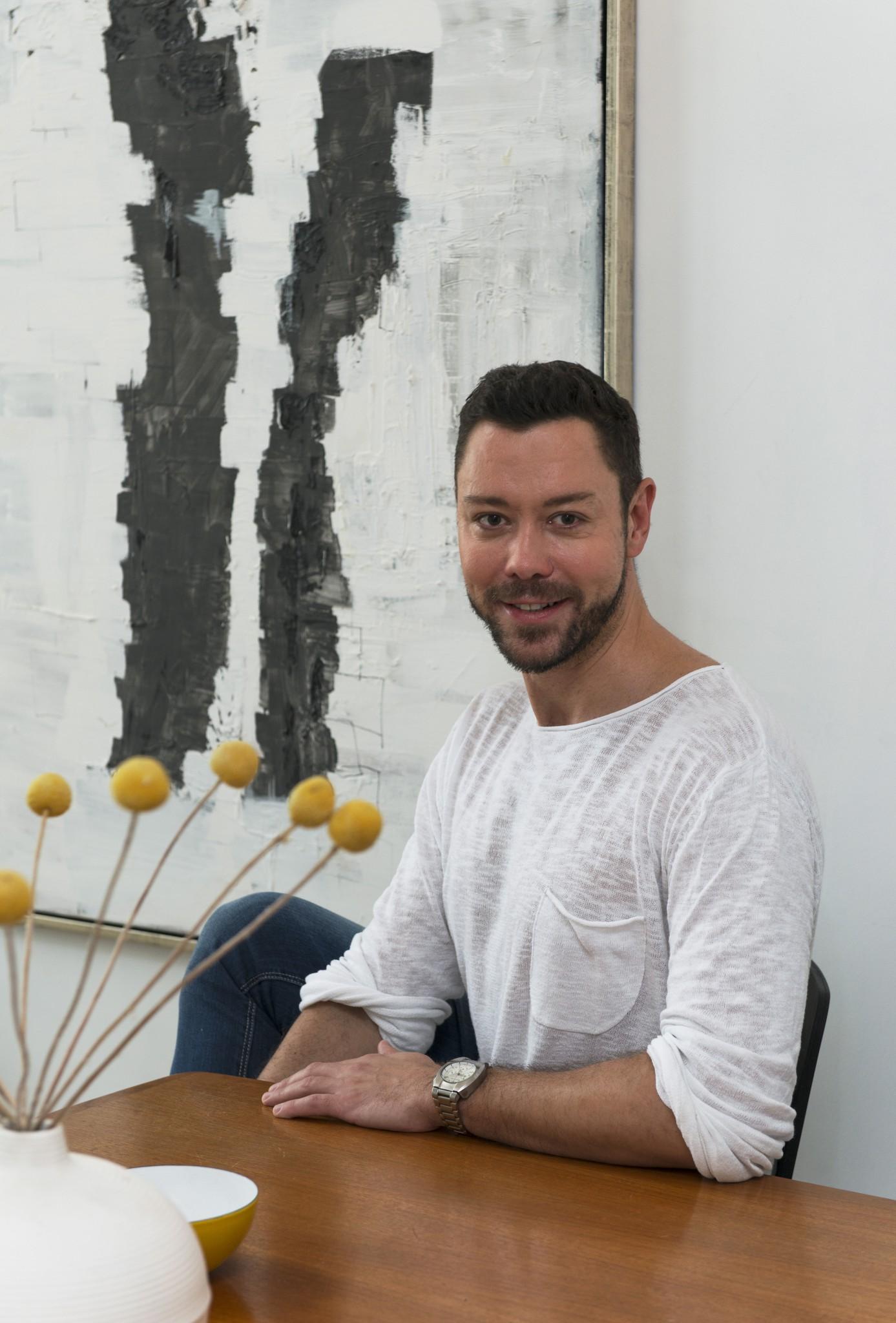 Boris Miller, interiørarkitekt og programleder i rom123 på TV 2 Livsstil.