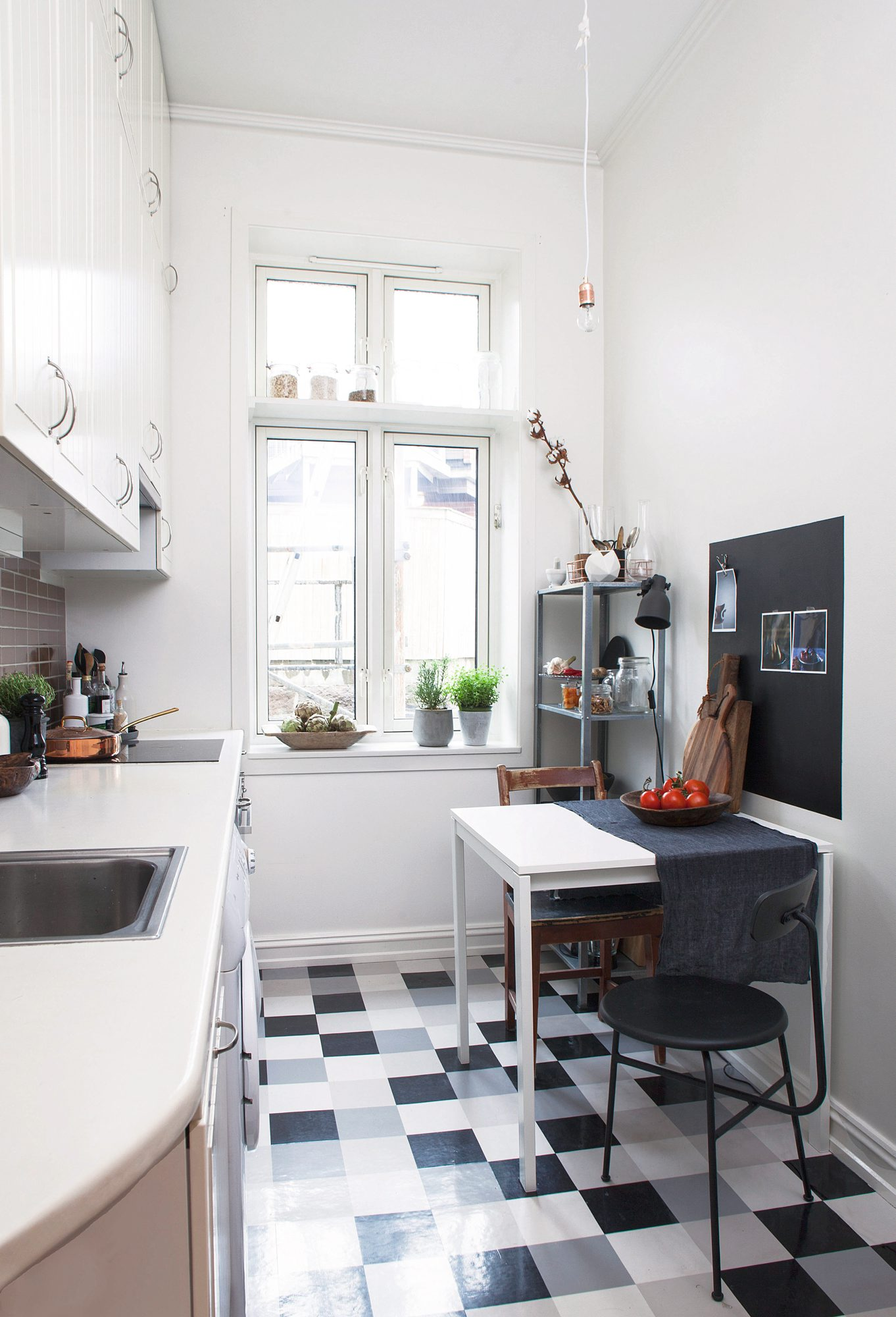 Kjøkken med stilmiks