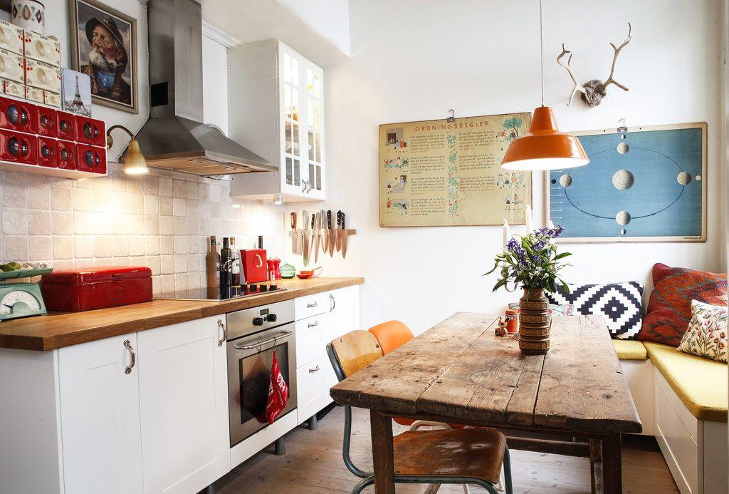 Rustikk kjøkken