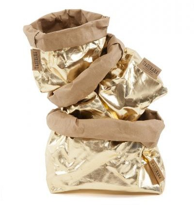 Uashmama papirpose i gullfarge fra Vakre Rom.