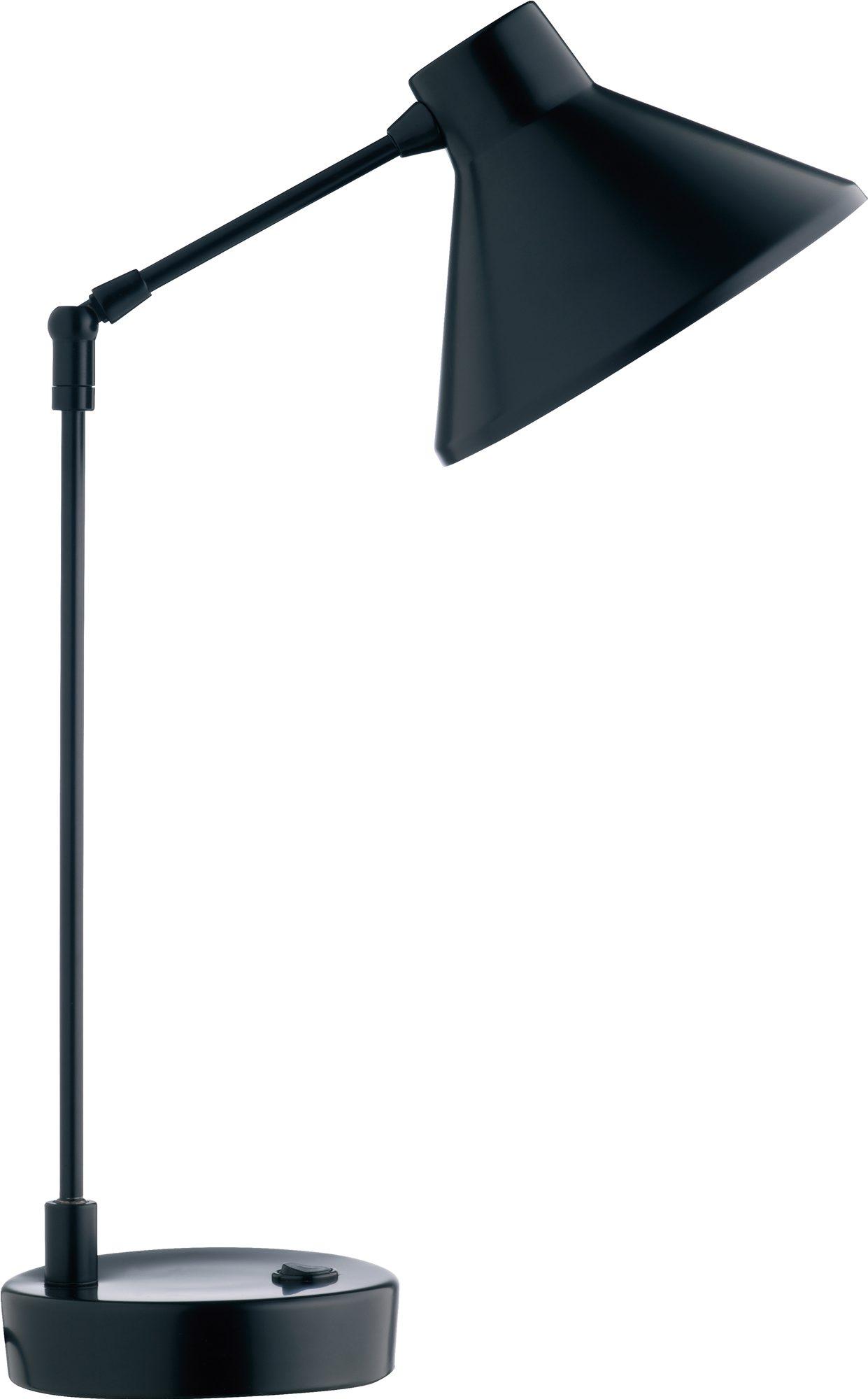 Sort bordlampe, kr 340, Habitat.