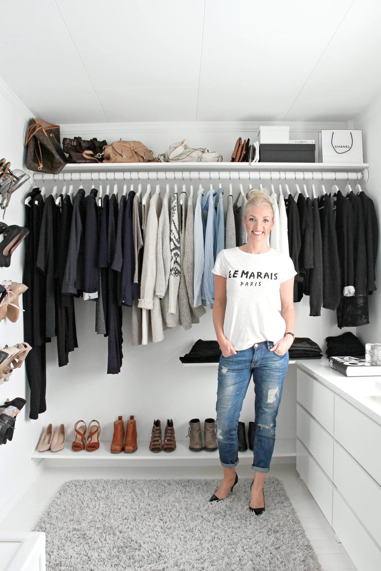 Nina Holst, garderobe, oppbevaring